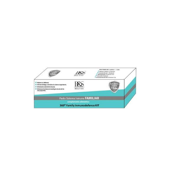 Packs Sistema Inmune Familiar. 360º Family Inmunodefence Kit