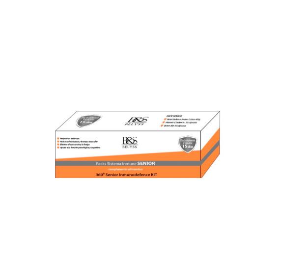 Packs Sistema Inmune Senior. 360º Senior Inmunodefence Kit